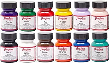 Angelus Acrylic Leather Paint Starter Kit by Angelus