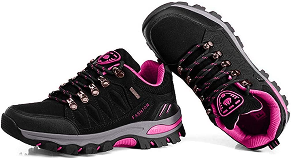 Women's Outdoor Waterproof Hiking Shoes Running Trail Hiker Anti-Slip Casual Climbing Backpacking Shoe