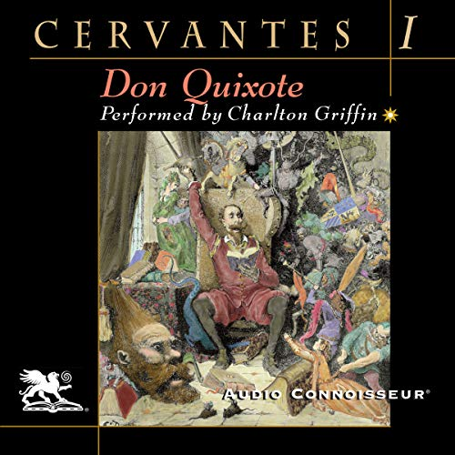 Don Quixote, Volume One cover art