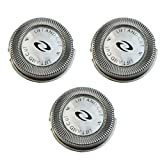wowgadgets 3x Replacement Blade Cutters Shaver Head For Philips Norelco HQ4 HQ58 HQ80