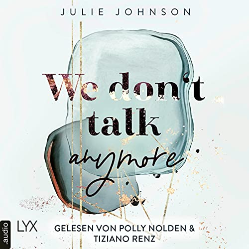 We don't talk anymore (German edition) cover art