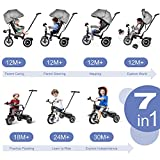 Zoom IMG-1 besrey triciclo bambini 1 anno