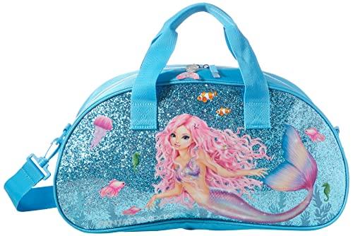 Depesche-DP-0011048 Bolsa de Deporte, Fantasy Model Mermaid, Azul, Aprox. 43 x 15 x 23 cm Color (11048)