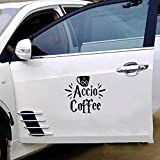 HP Hogwarts School of Magic Accio Caffè stampato Trackpad Clear Vinyl Decal Sticker C adesivi decalcomanie per auto