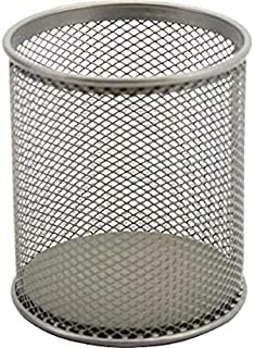 Roku Mesh Pen Cup, Silver