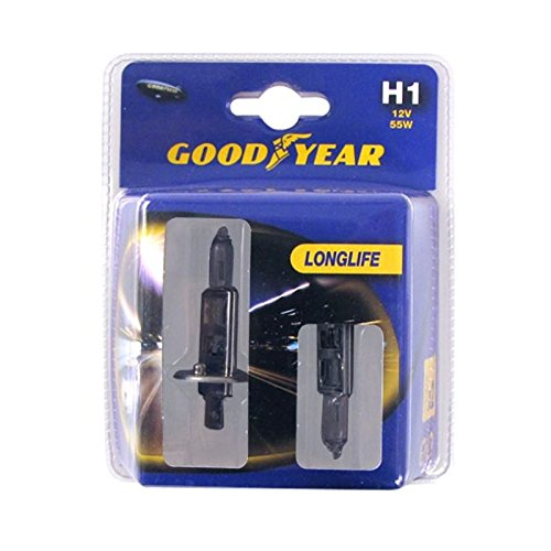Goodyear 2 Lampes H1 12V 55W Longlife
