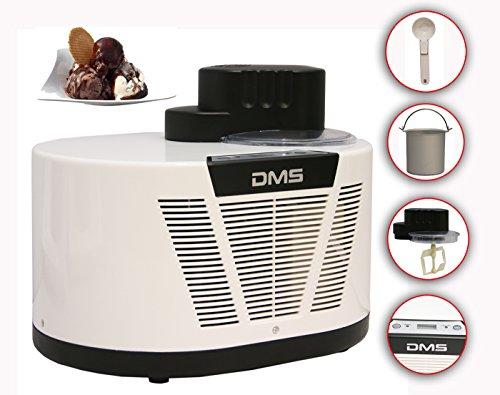 DMS, macchina per gelato con compressore, capacità: 1 litro, ECM-150 W