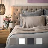 Olive + Crate Tencel Sheets Set, Moisture Wicking Sheets, Cooling Sheets for Night Sweats, Eucalyptus Sheets, Cooling Sheets King and Queen Size, Hypoallergenic, Extra Deep Pockets