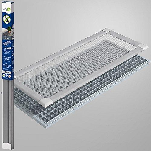 Profi Insektenschutz Lichtschacht Lichtschachtabdeckung 60 x 115 cm transparent - natur
