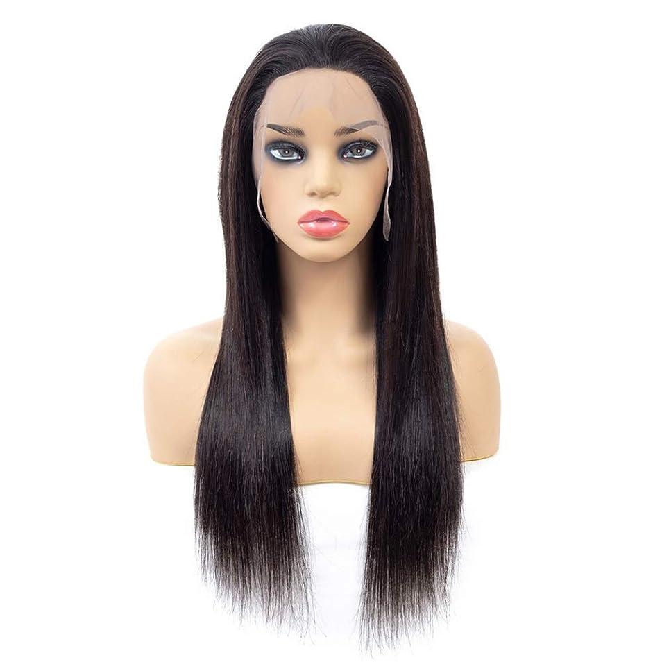 部分買い物に行く悲観的かつら ストレート人間の髪の毛の閉鎖ブラジルのバージンヘアフリーパート13 * 4レースの閉鎖未処理の髪の拡張子(10