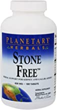 Planetary Herbals – Stone Free 820 mg – 180 Tablets Formerly Planetary Formulas Estimated Price : £ 23,27
