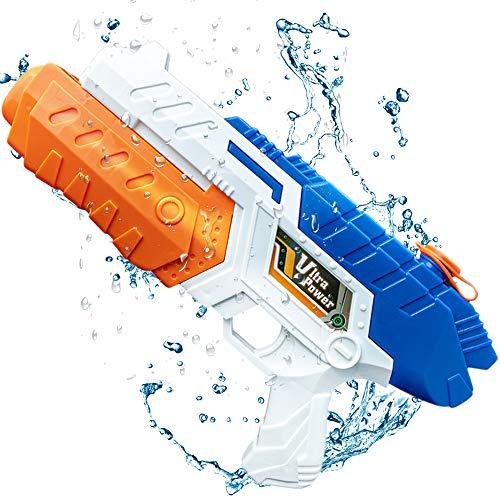 infinitoo Wasserpistole Spritzpistolen, Water Gun Spielzeug für Kinder Water Blaster Badespielzeug Strandspielzeug Erwachsener (Bis zu 10 Meter Reichweite,32*18cm)
