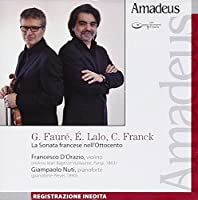 La sonata francese nell'ottocento Sonata per violino e piano n.1 op 13 in LA (1875 7
