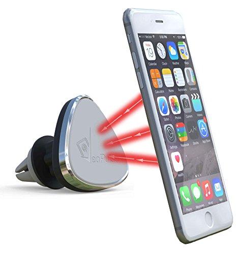 Soporte telefónico imantado para coche VeoPulse para rejilla de ventilación - universal:...
