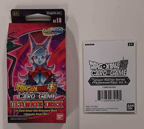 Bandai - Dragon Ball Super CG: Unison Warrior Ultimate Deck - Kartenspiel