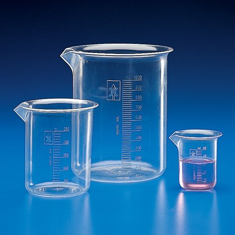 Beaker PMP TPX 25mL Graduations Fixed price for sale Columbus Mall Molded