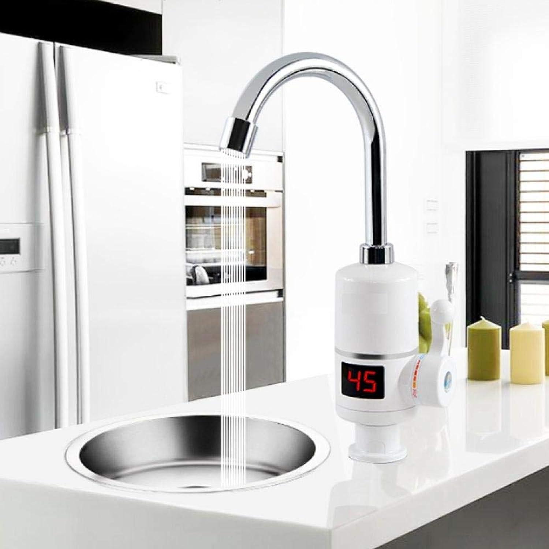 Sofort-Warmwasserbereiter Tippen Sie auf Schnelle Sofort-Thermostat für Warmwasserbereiter 3000w Elektrische Wasserhahn-Temperaturanzeige