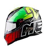 Goolife Casco Modulare Moto Crash High Safety-NENKI Casco Integrale da Motociclista con Visiera Parasole per Uomo Adulto Donna,XL
