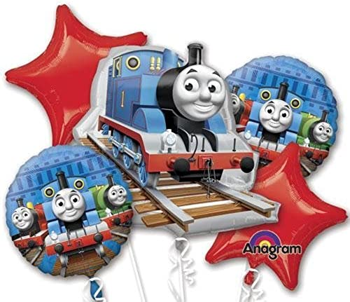 tiempo libre Single Source Party Supplies - Thomas Thomas Thomas & Friends Bouquet Mylar Foil Balloons by Single Source Party Supplies  ventas al por mayor