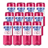 Absolut Mixt Raspberry and Lemon Flavour Sparkling Pre-Mixed Drink