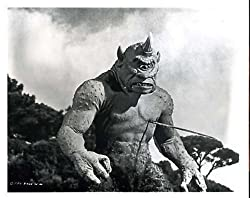 Ray Harryhausen's Cyclops in The 7th Voyage of Sinbad