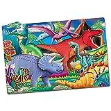Learning Journey - Glow in The Dark, Puzzle con diseño Dinos, 100 Piezas (XLJ787533)