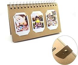 Instax Film Album for Fujifilm InstaxMini 8 9 Mini 90 Mini 70 Mini 7s Mini 25 Mini 50s Instax Mini 90 Neo Classic Instax Mini Hello Kitty Share Sp-1 Instant Cameras, Polaroid Pic-300 Mini Film -Floral