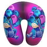 Hdadwy Oreiller en Forme de U Winnie Bourriquet idéal pour Dormir sur Le côté pour Le Cou et Les épaules - Oreiller hypoallergénique pour la Maison et Les Voyages Oreiller en Forme de U