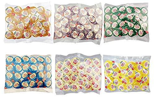 Coffee Mate Liquid Creamer Singles - 6 Flavor Assortment (144 Pack) Custom Leak Resistant Packaging, Delicious Flavors: Original, French Vanilla, Italian Sweet Crème, Vanilla Caramel, Irish Crème & Hazelnut