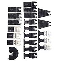 鋸刃クイックリリース21個木工セットクリーニングカッティング用振動