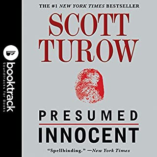 Presumed Innocent audiobook cover art