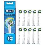 oral-b precision clean testine di ricambio per spazzolino elettrico con tecnologia cleanmaximiser, confezione da 10 pezzi