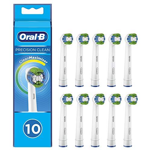 Oral-B Precision Clean Cabezales de Recambio, Pack de 10 Recambios Originales con...