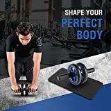 Zoom IMG-2 ultrasport trainer ab wheel roller