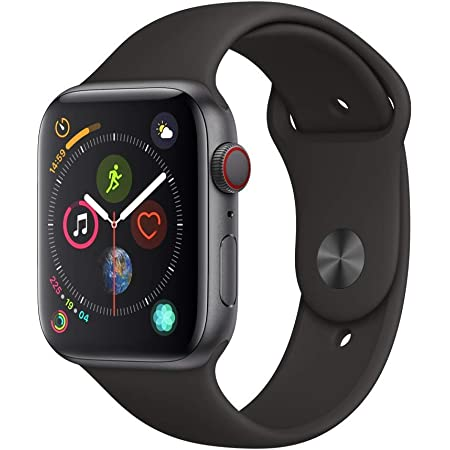 Apple Watch Nike Serie 4 Gps Celular Correa Deportiva Negra 44mm