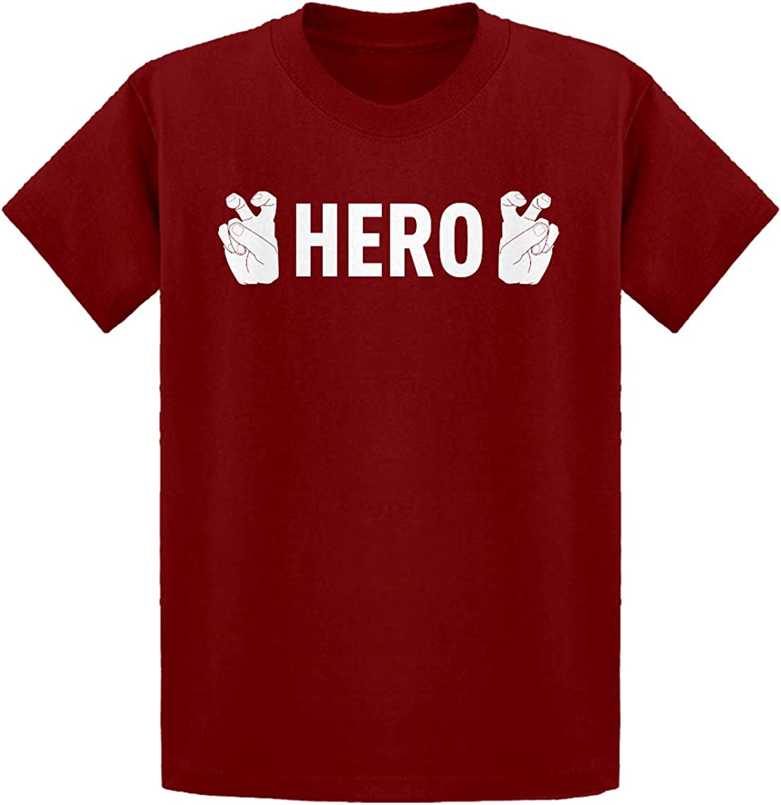 Indica Plateau Hero Finger Quotes Kids T-Shirt
