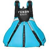 Yukon Sport Paddle Life Vest, Turquoise, 2XL/3XL