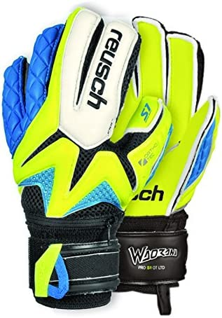 sold out Reusch Oakland Mall Jr Goalkeeper Waorani Pro Ltd Yellow S1 Safety Ortho-Tec