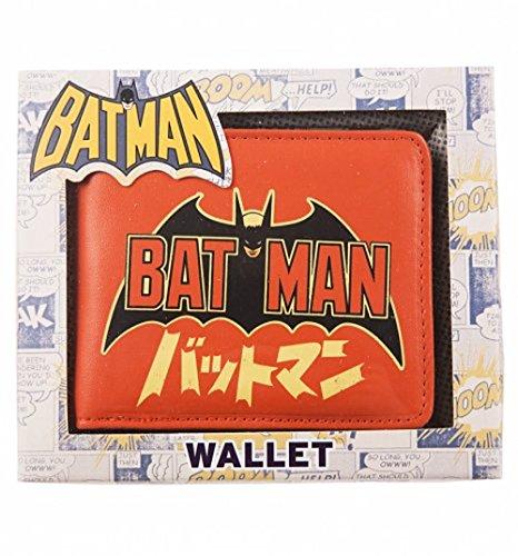 Erik WALBBM04 Cartera DC Comics Batman, Multicolor, única