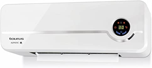 Taurus RCMB 23 Alpatec Calefactor Pared, 2000 W, Plástico, Blanco