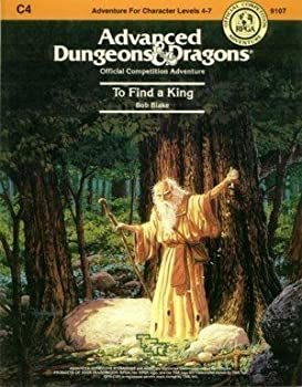 To Find a King (AD&D Fantasy Roleplaying, Module C4) - Book  of the Advanced Dungeons and Dragons Module #C4