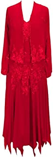 Applique Beads Long Sleeves Chiffon Mother of The Bride Dresses Formal Gowns