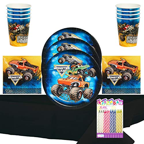 Monster Jam Party Supply Pack (For 16 Guests)