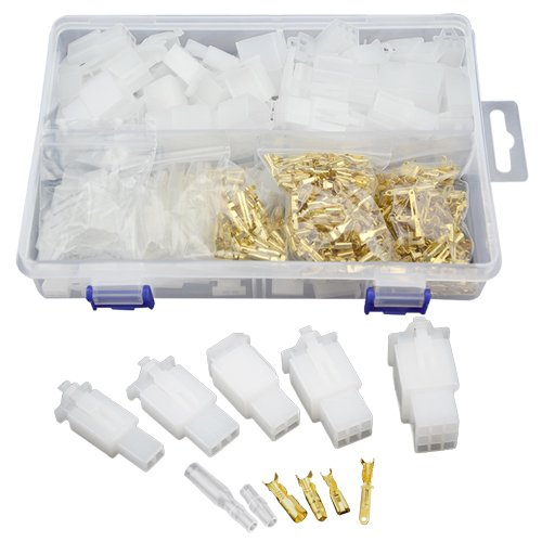 Wire Harness Connectors: Amazon.com on generator connector plugs, 4 pin wire connector plugs, trailer wiring harness plugs, control box connector plugs, waterproof 12 volt quick disconnect plugs, wiring a plug, waterproof connector plugs,