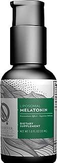 Quicksilver Scientific Liposomal Melatonin - Sleep, Jet Lag & Immune Support + Phospholipid Technology for Superior Absorption + Customizable Dosing, Soy-Free (1oz / 30ml)