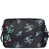 Lug Women's Delta Laptop Case, Bouquet Black, One Size