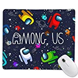 Akanarika A-mon-g U-s Mouse Pad with Non-Slip Waterproof Rubber Base for Office Working Studying Gaming 9.8