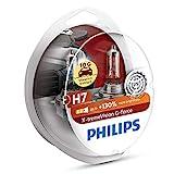 PHILIPS H7 X-tremeVision G-fore - Bombillas halógenas para faros delanteros de coche (12 V, 55 W)
