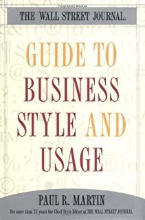 wall street style guide