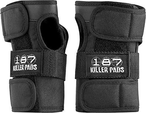 187 Killer Wrist Guards Black Large